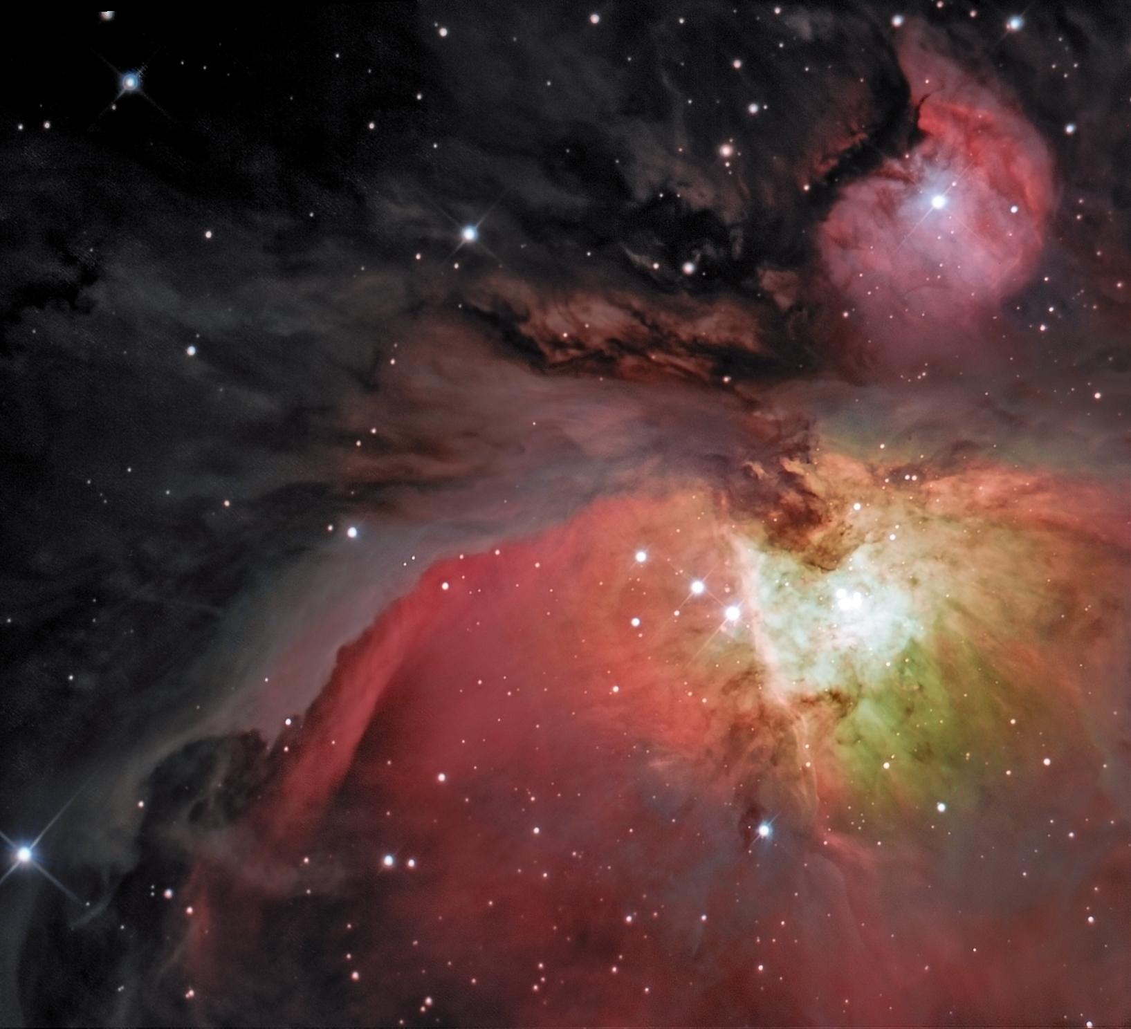 M42... à la Hubble 122643-1543272209