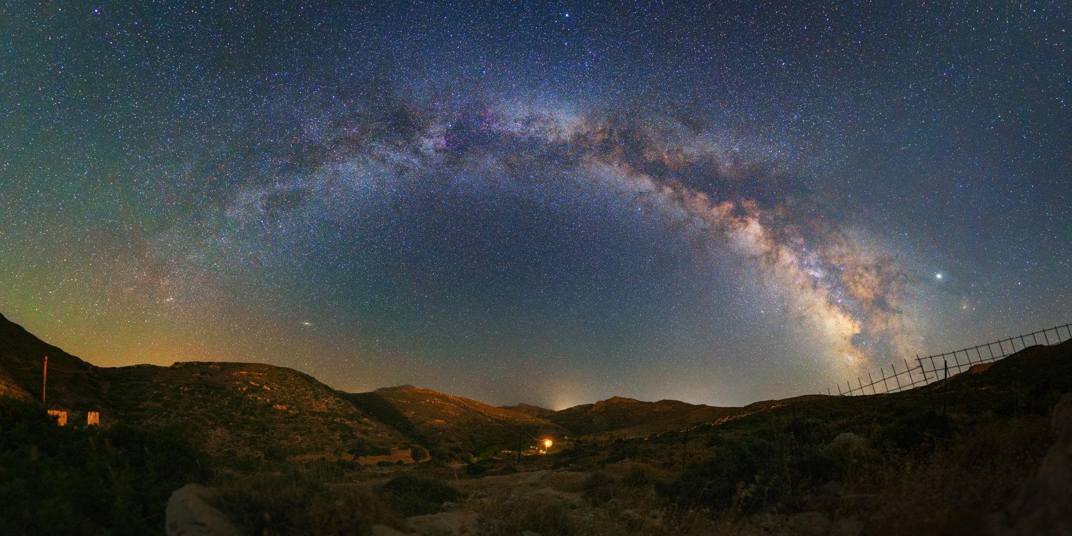 Voie Lactée grecque: Pano 180° 122643-1564841597
