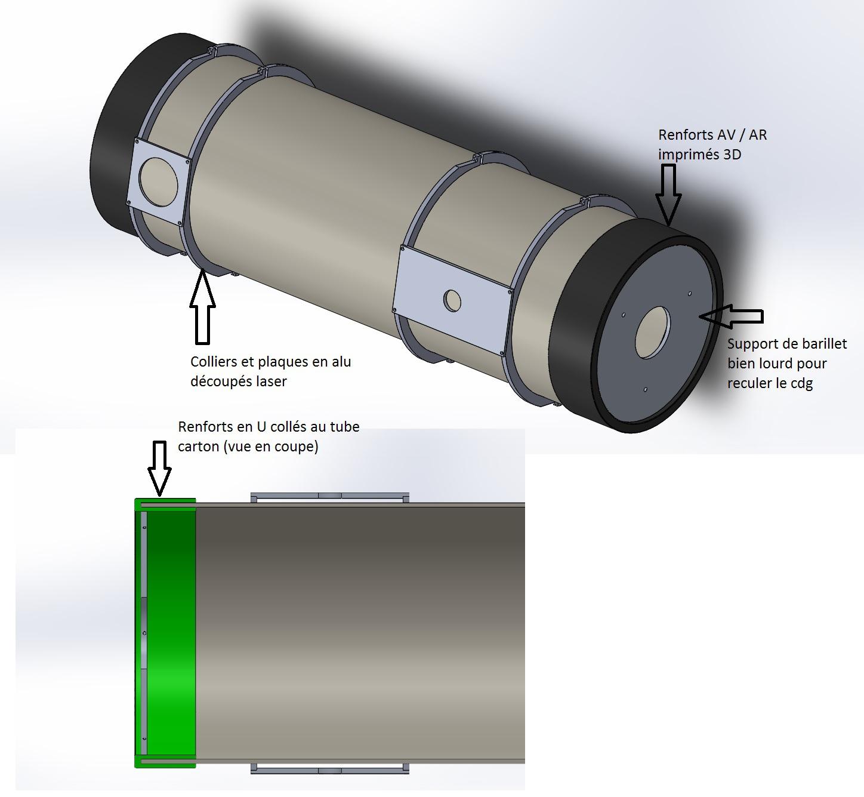 Tube De Coffrage En Carton Pour Télescope Les Bricoleurs