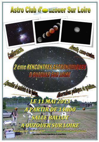 Rencontre astronomique printemps 2016