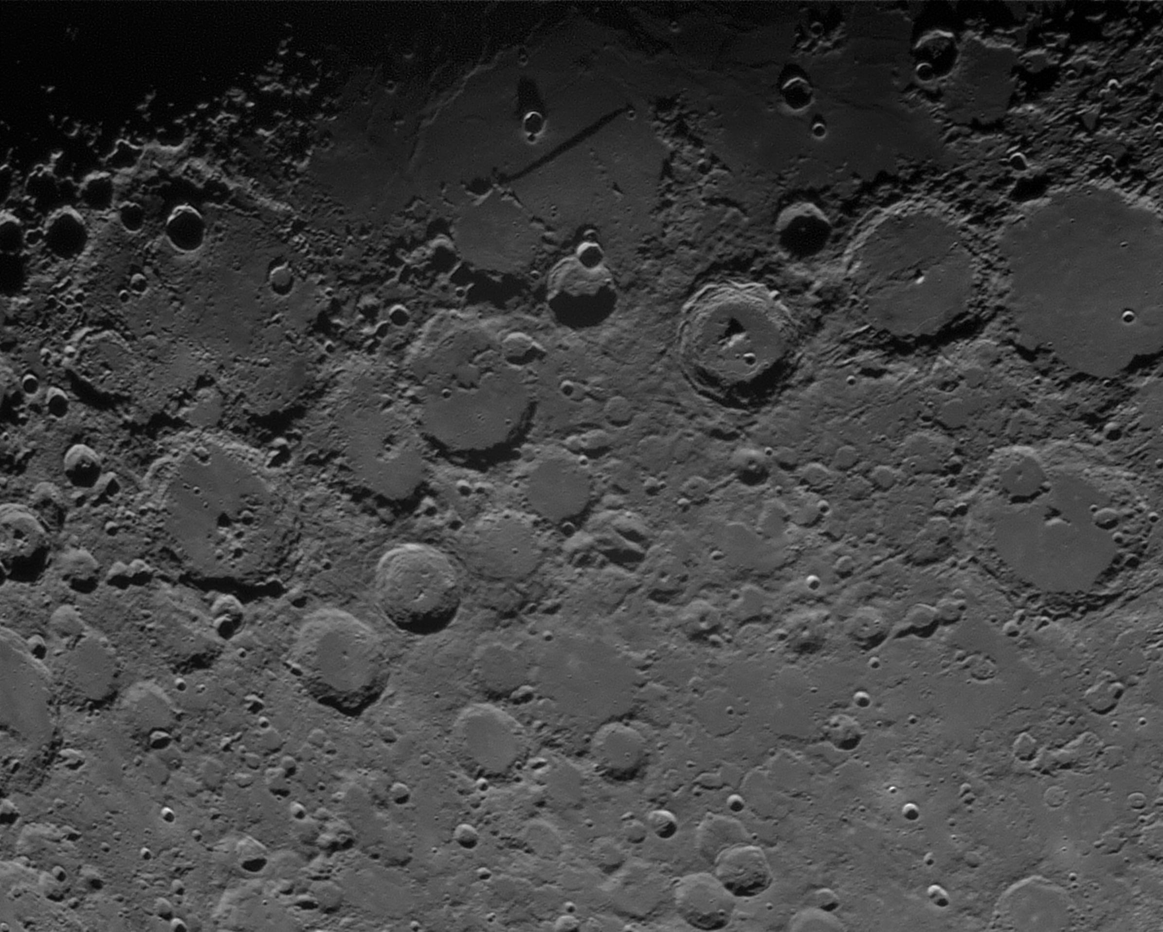 Astronomie lune le mur droit et ses voisins - Mur privatif droit et devoir ...