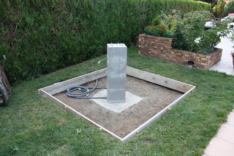 Mon p 39 tit observatoire forums d 39 astronomie webastro - Dosage beton pour pilier ...