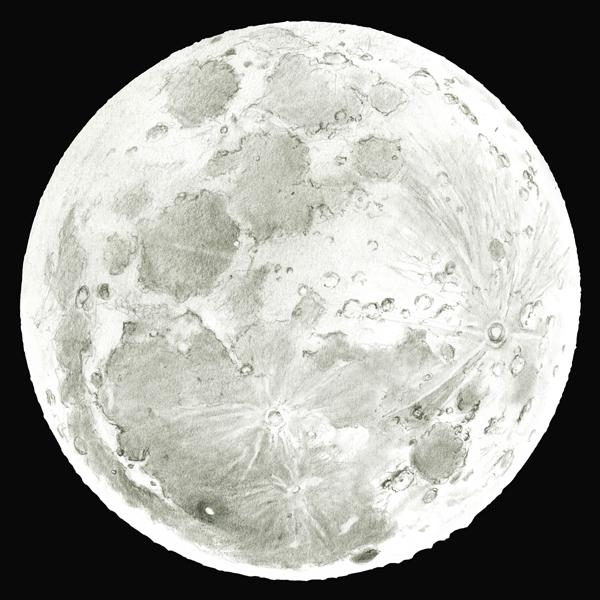 Eclipse de lune australienne les dessins webastro - Dessin de lune ...