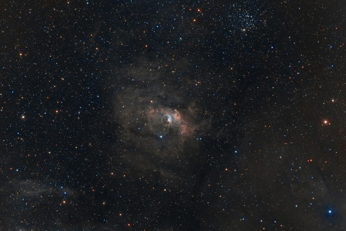 NGC7635 HaRGB