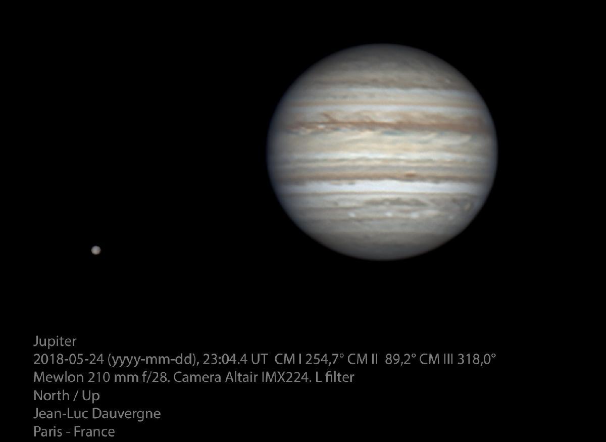 Des détails sur Ganymède