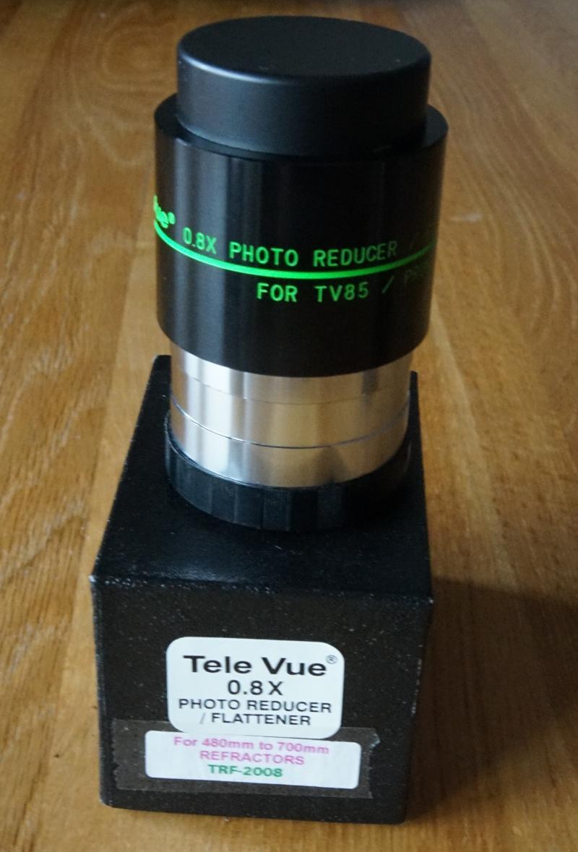 TeleVue Réducteur/Correcteur 0.8x pour lunettes 400 à 600mm