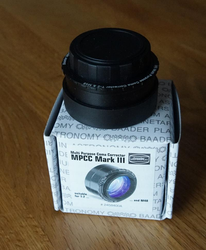 Reducteur de focale:correcteur de coma MPCC Baader Mark3