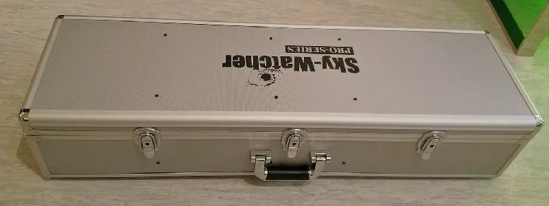 Valise alu skywatcher pour 100ED modifiée pour TSA-102/FS-102 ou autres lunettes de 100mm