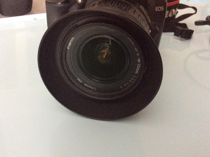 Canon 1000d defiltre partiel +accessoires