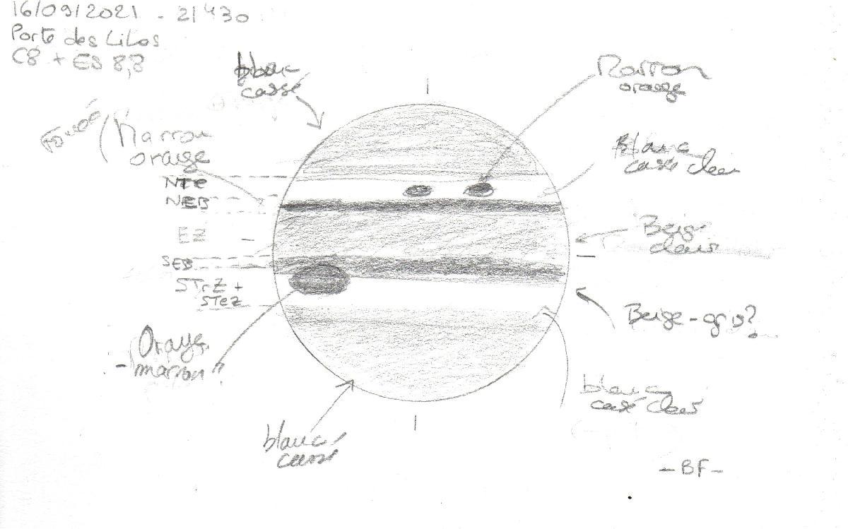 Jupiter 16/09/2021