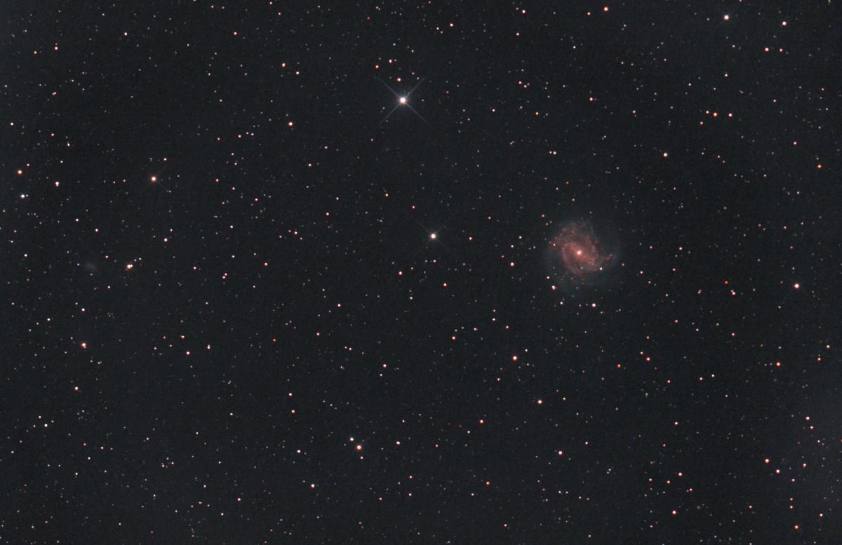La galaxie aux Mille Rubis