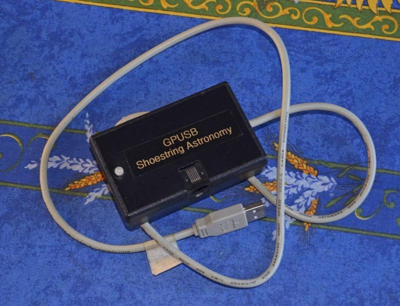 GPUSB pour autoguidage