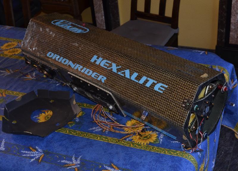 Astrographe 150/750 ultraléger en carbone/kevlar