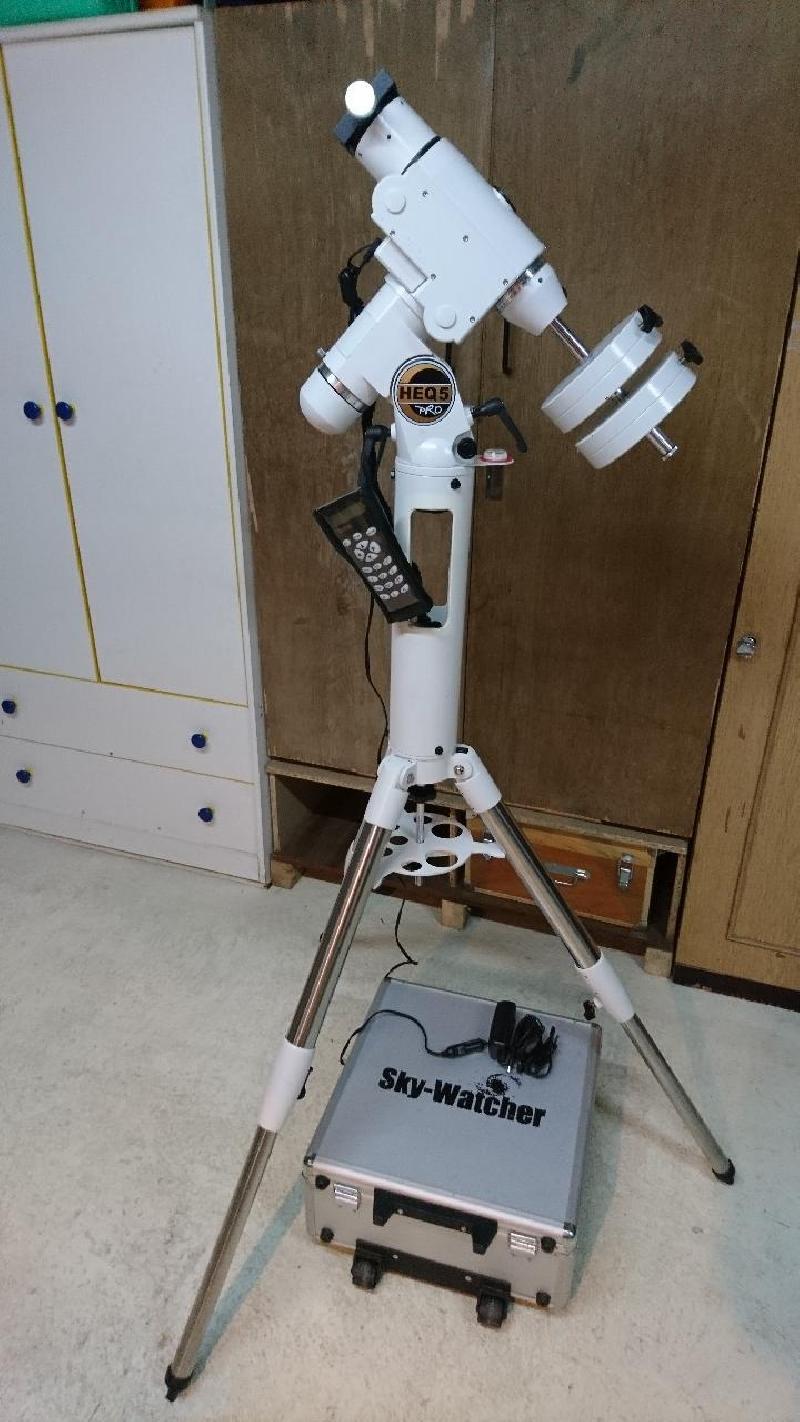 HEQ5 pro goto skywatcher