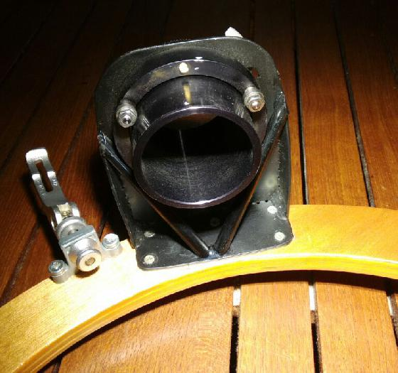 Renforts carbone du porte oculaire