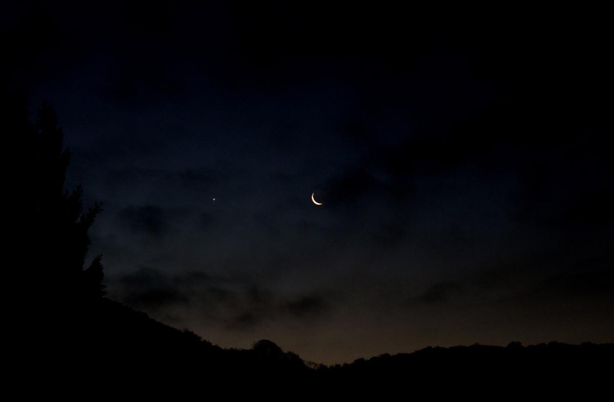 Lune Vénus conjonction
