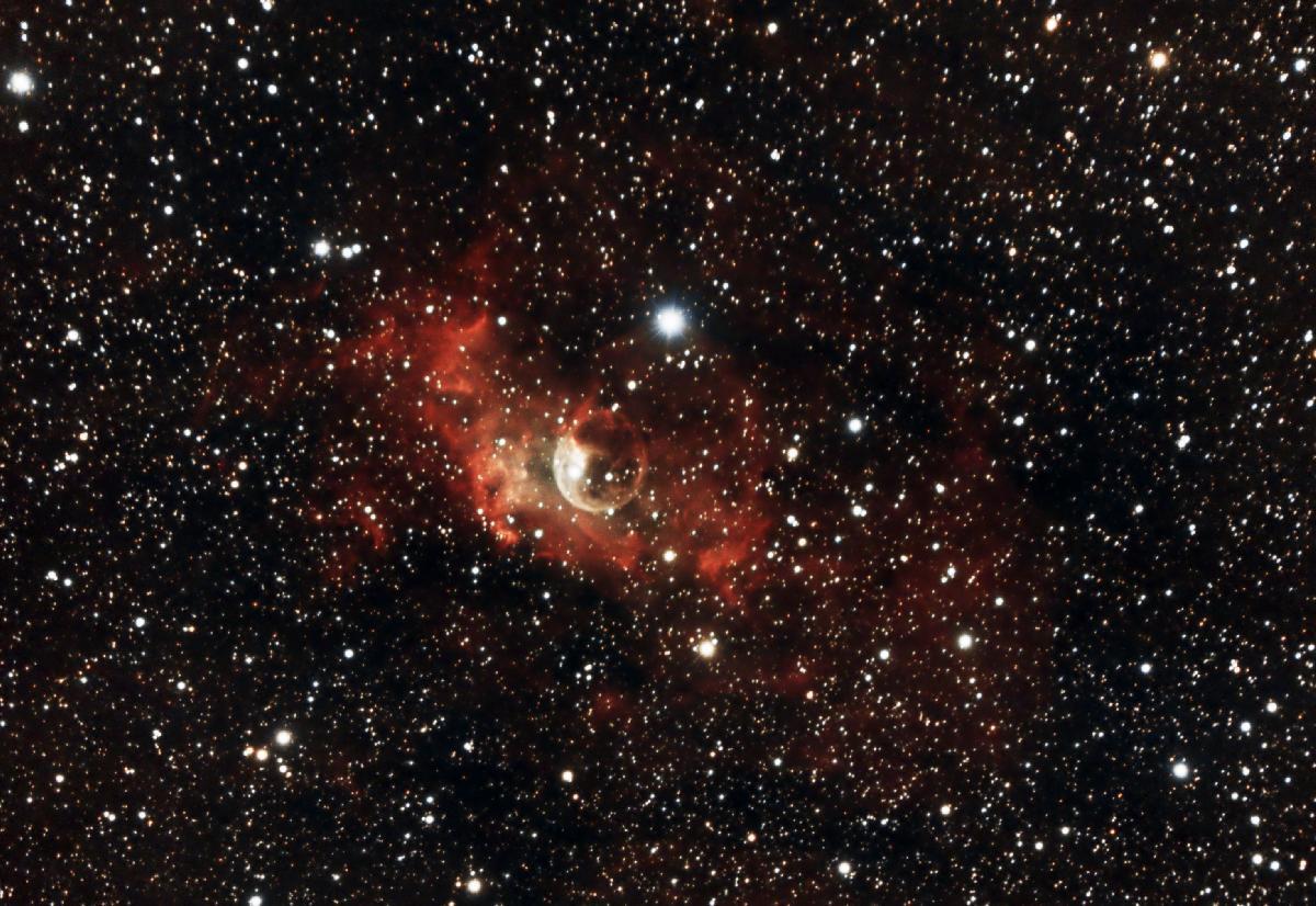 NGC 7635 - Nébuleuse de la Bulle