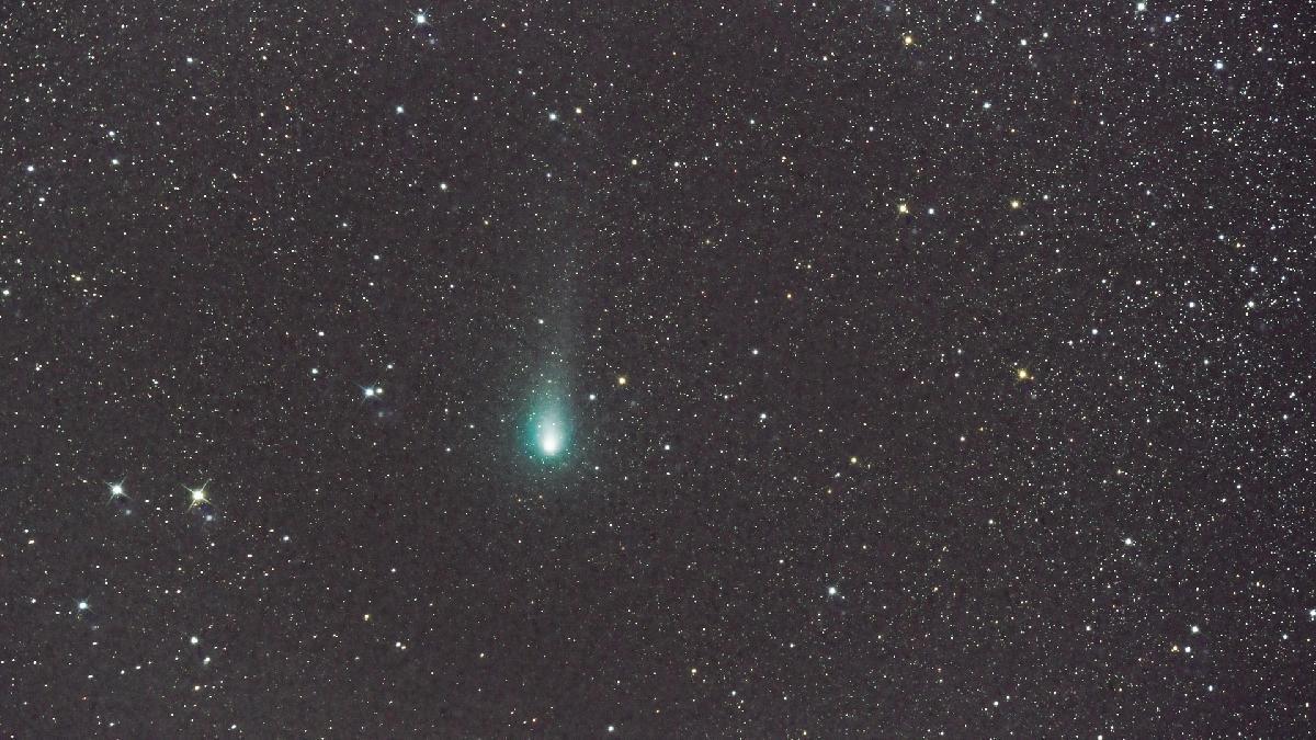 Comète: 21P/Giacobini-Zinner.