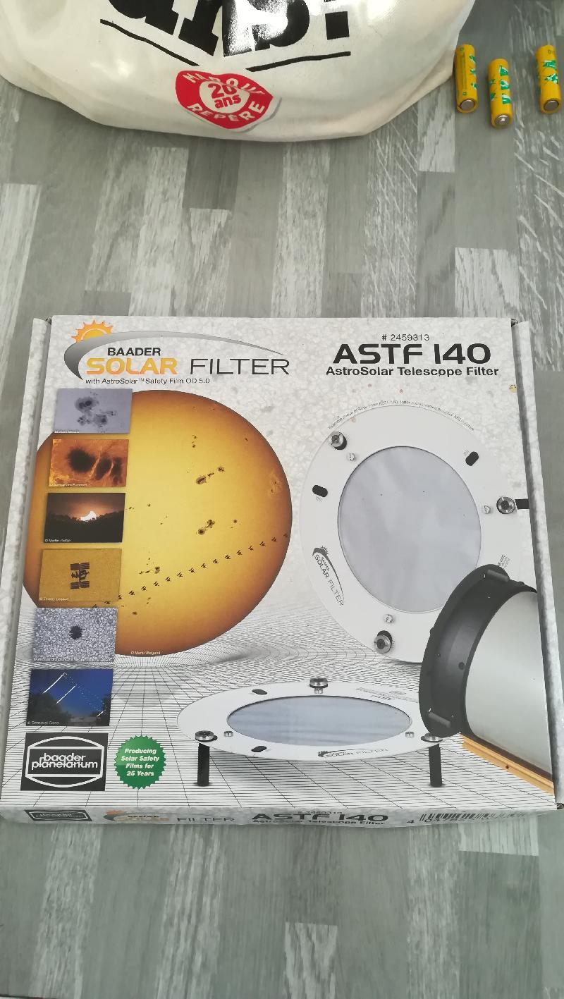 9489c27fa97b6e Filtre solaire Baader astf 140