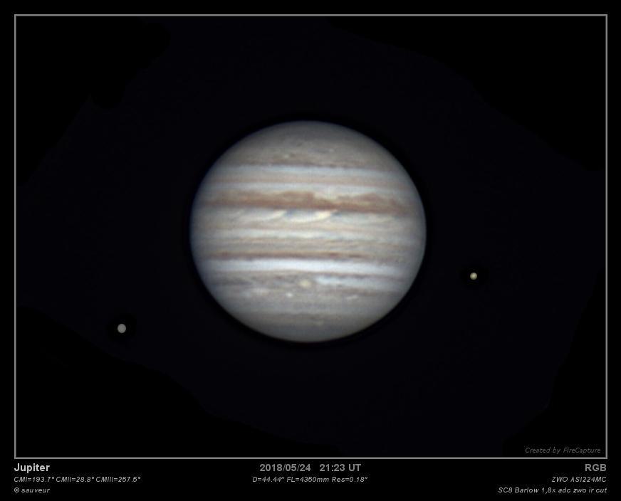 Jupiter 24/05/2018