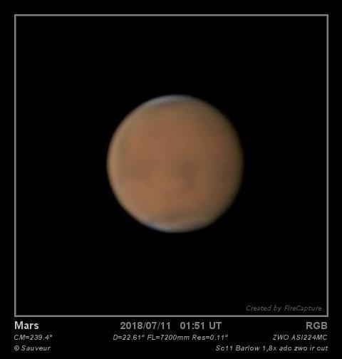 Mars du 10/07/2018
