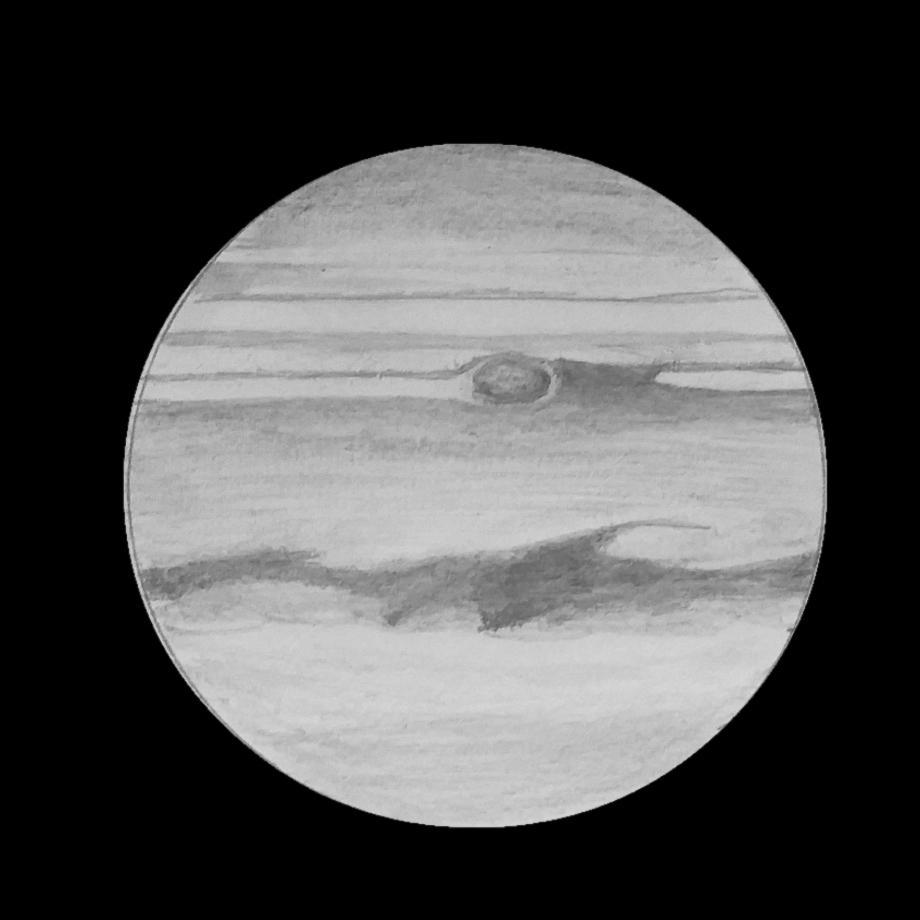 Jupiter du 16 mai 2018