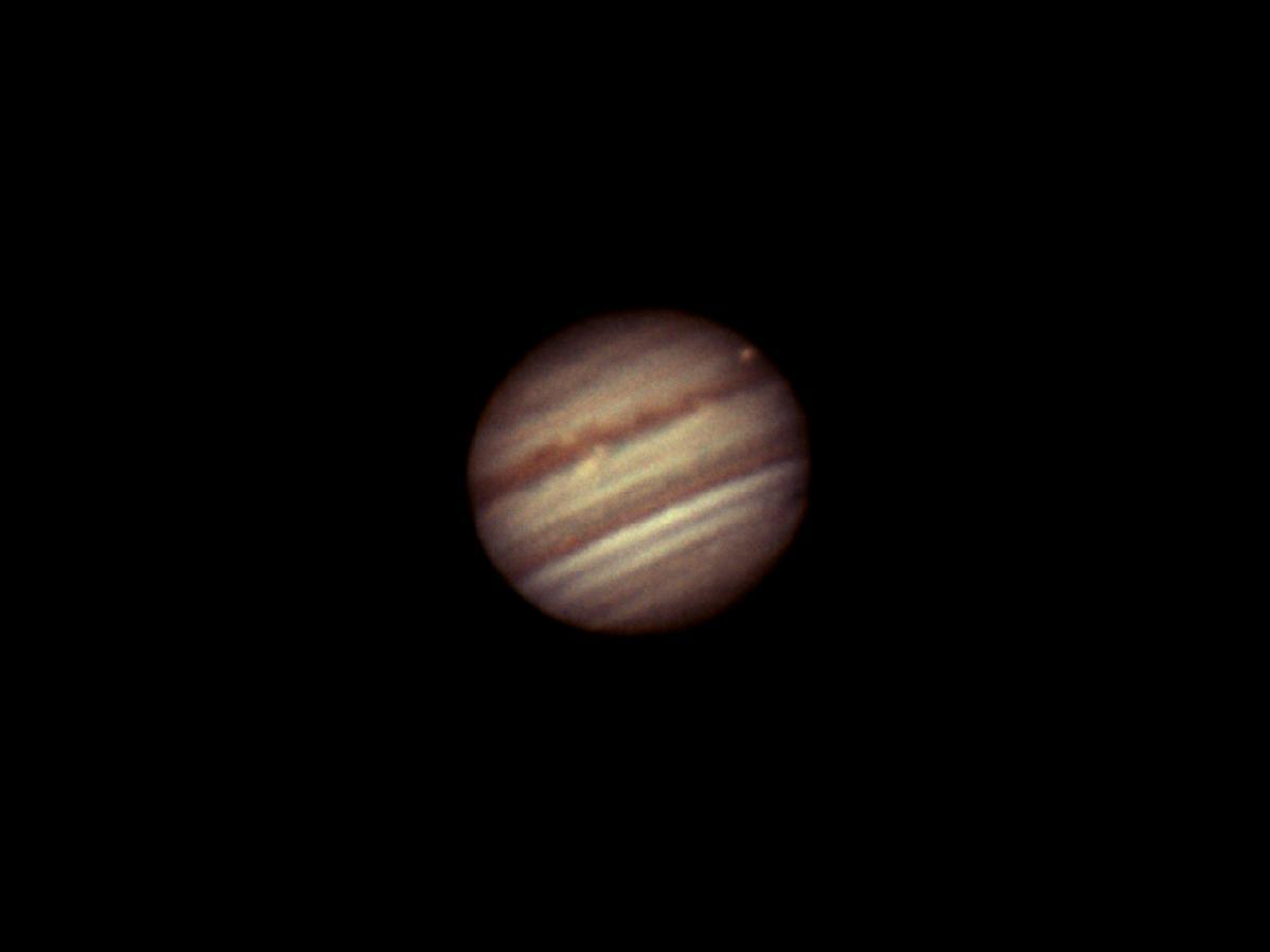 Jupiter et Io le 17 avril 2018 23h42 TU