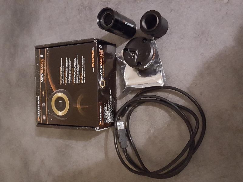 Caméra neximage 5mp Celestron