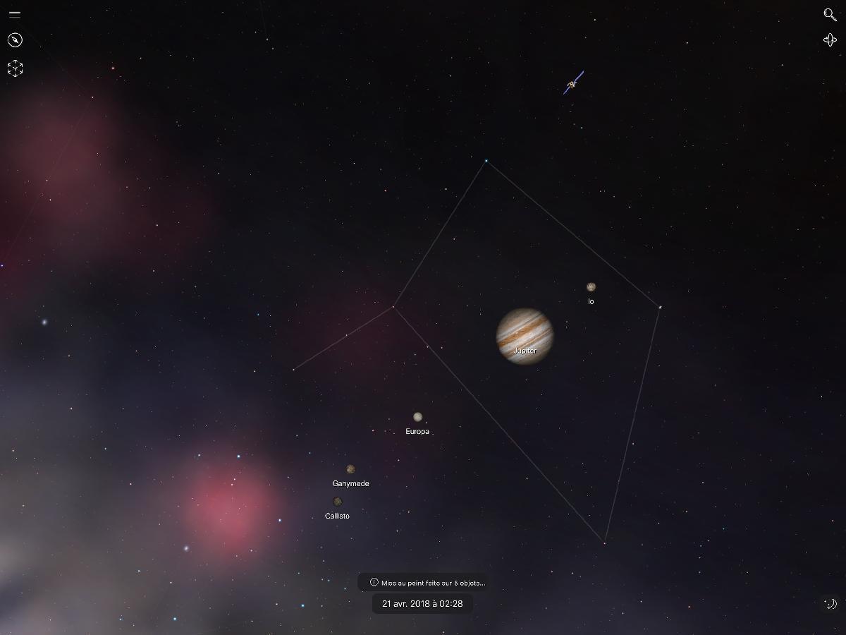 vue night sky app