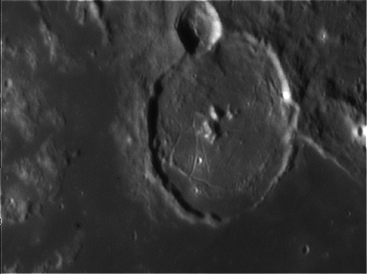 Cratère Gassendi 20 avril 2018