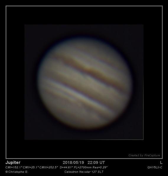 Jupiter 20 mai 2018 00h11