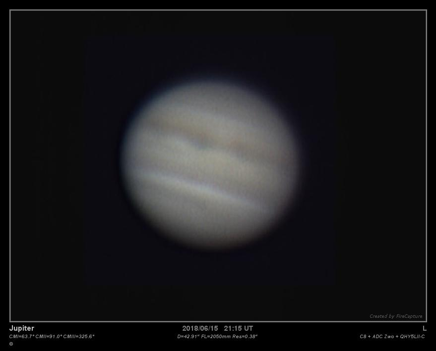 Jupiter 16 juin 2018 23h16