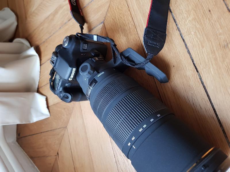 EOS 50D defiltré et refiltré Astrodon inside