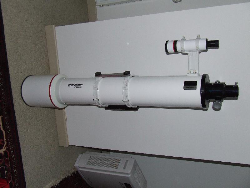 Lunette Bresser 152F1200 avec crayford, pas hexafoc
