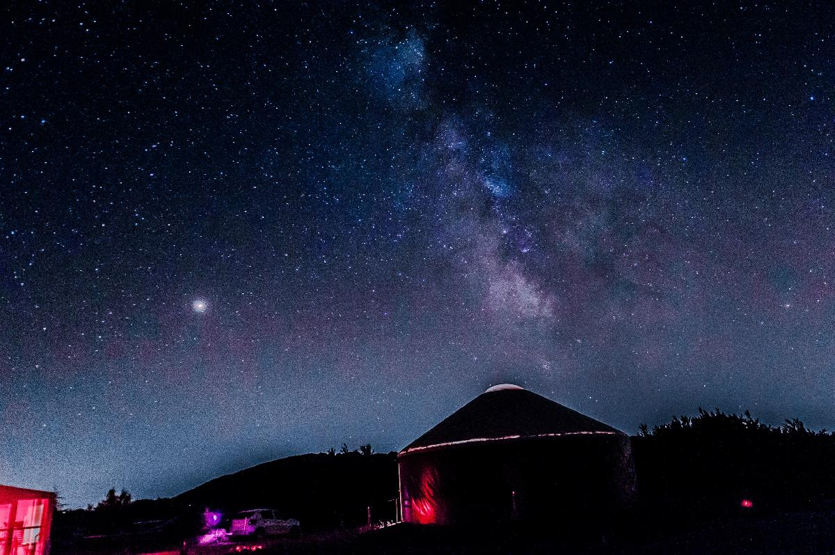 Observatoire SIRENE - Provence - Première voie lactée Sud