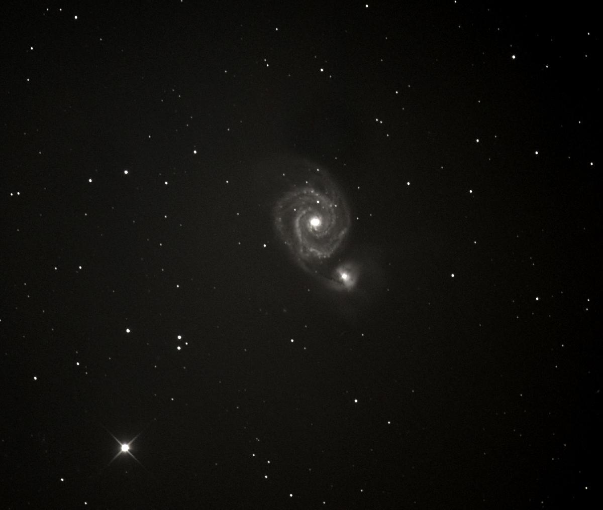 M51-Premiere Galaxie