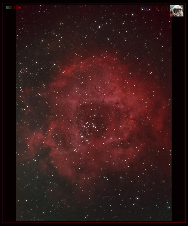 NGC-2244 la rosette