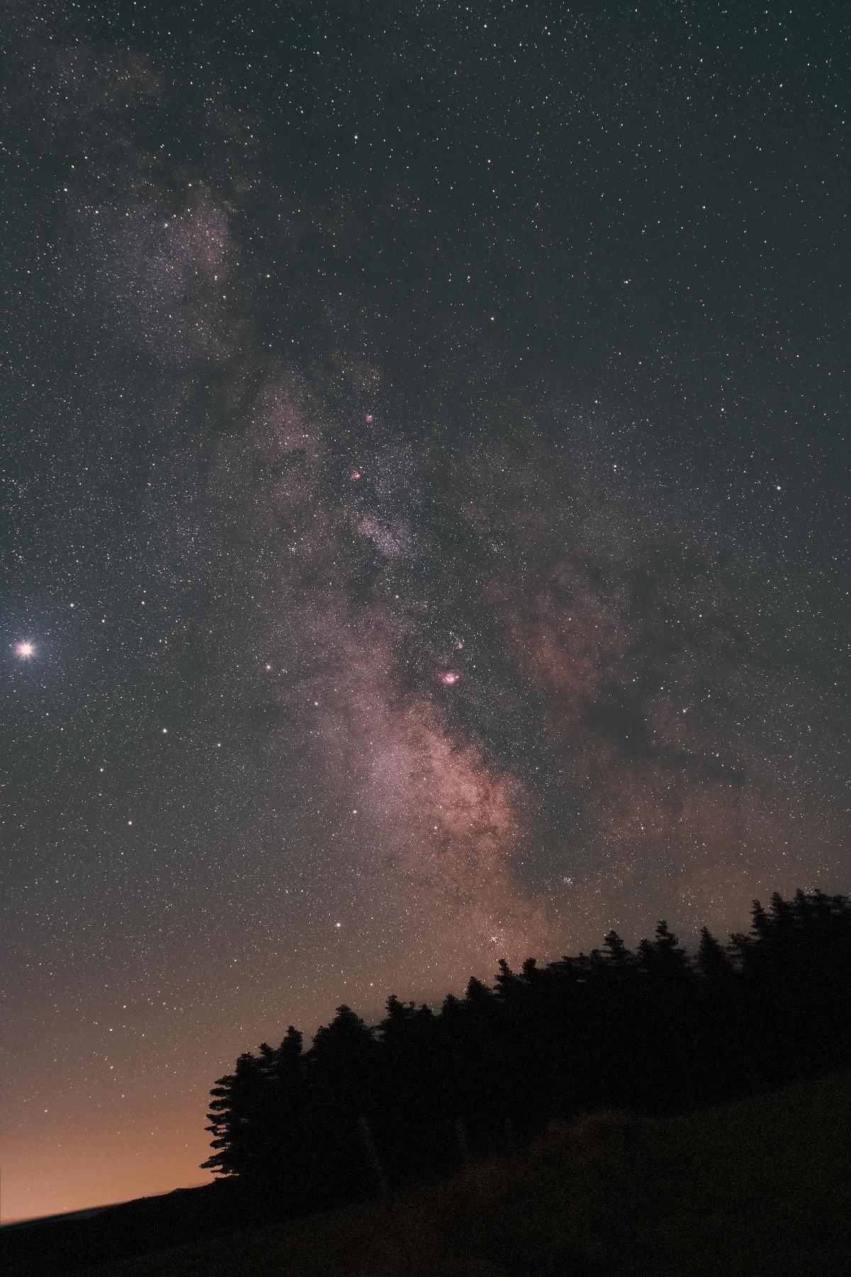 Voie Lactée Ardèche