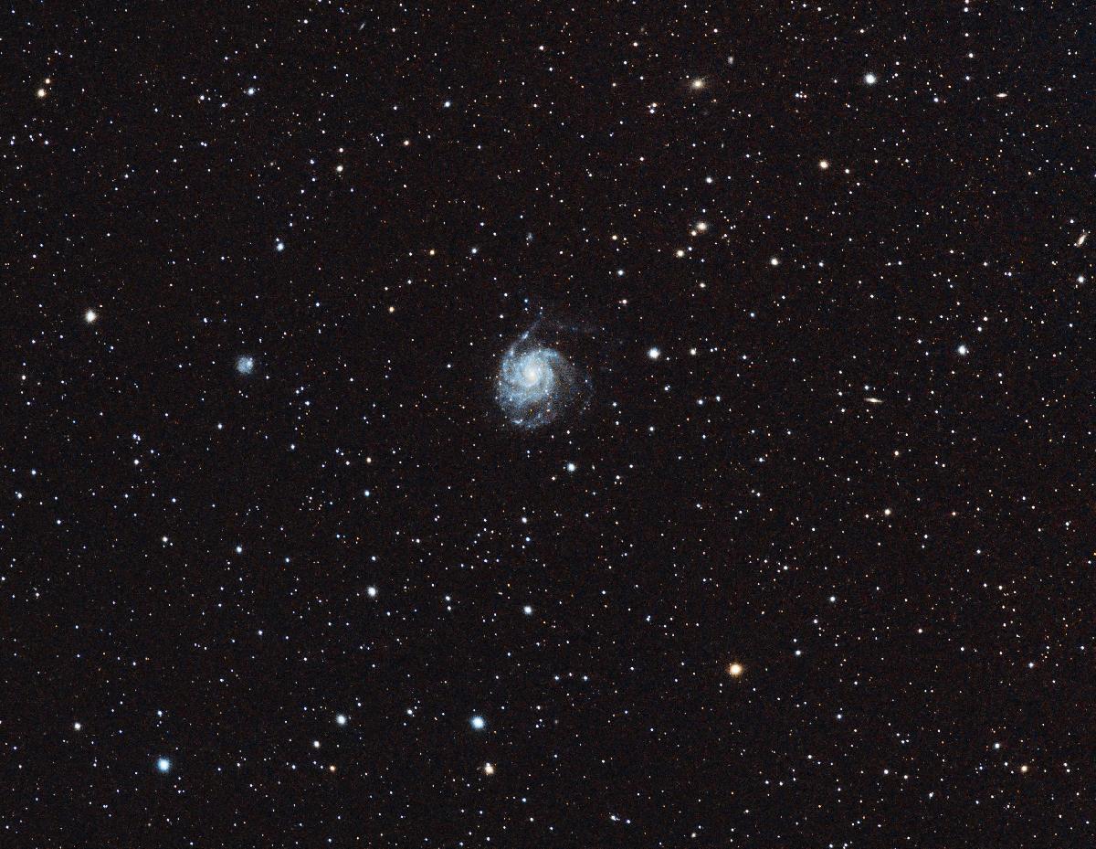 M101 Galaxie du moulinet