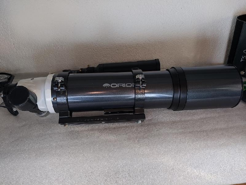 Orion 80Ed + EQM-35 + guidage + 450 Dd + filtres