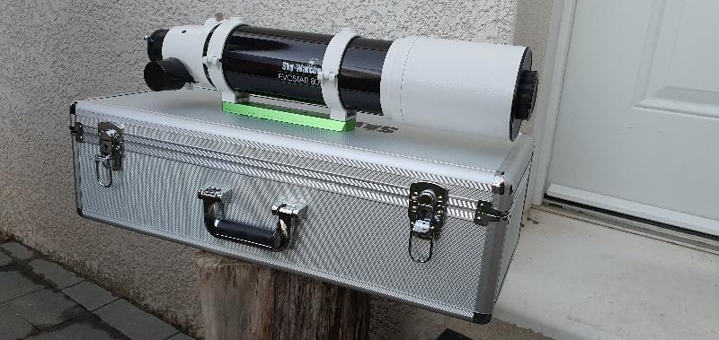80-ed Sky-Watcher + réducteur 0,85 dédier à cette lunette.