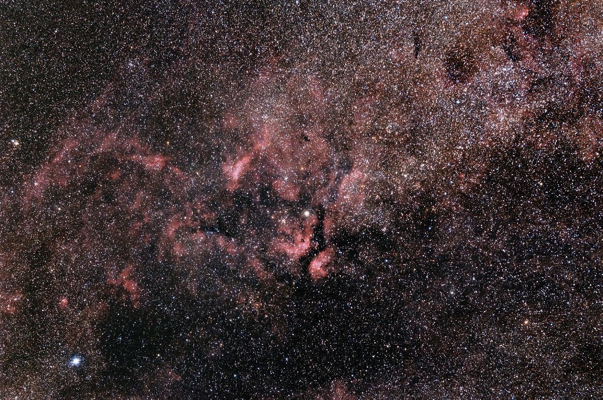 Région de Gamma du Cygne