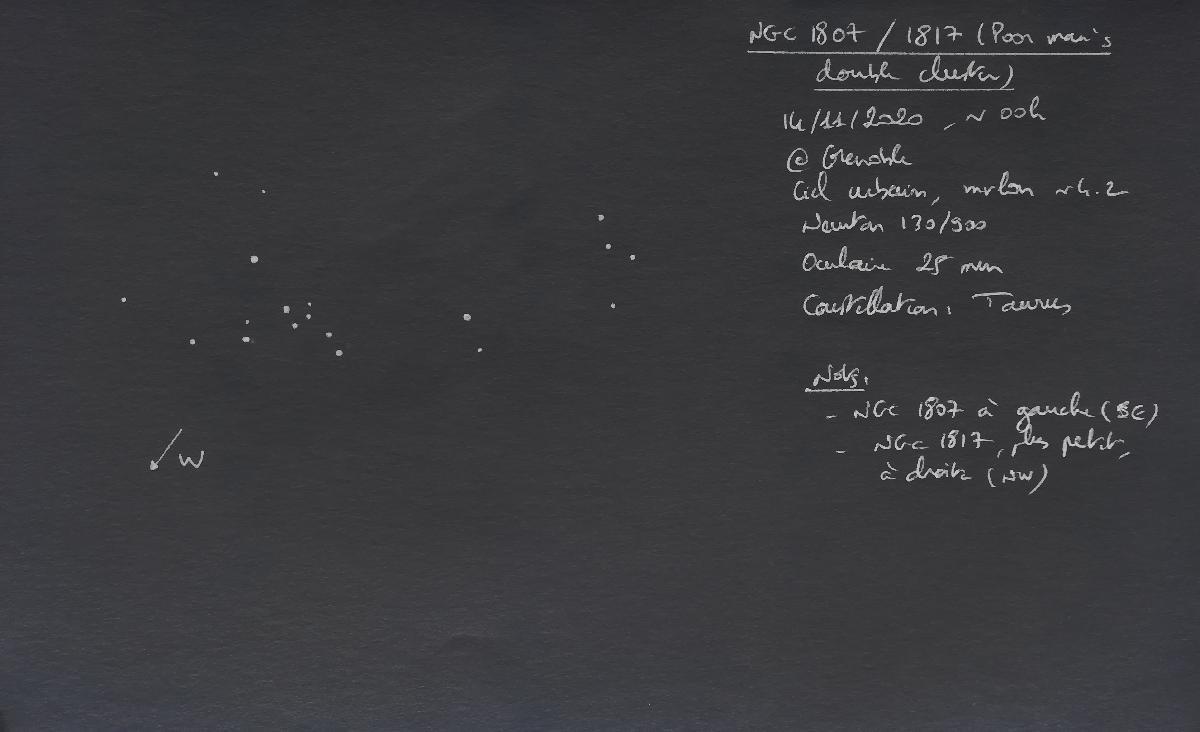 NGC1807/1817 - 14-11-2020