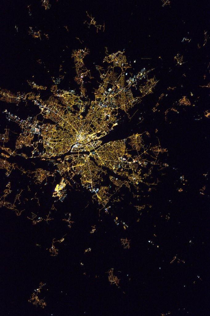 Nantes vu de l'ISS by Thomas Pesquet