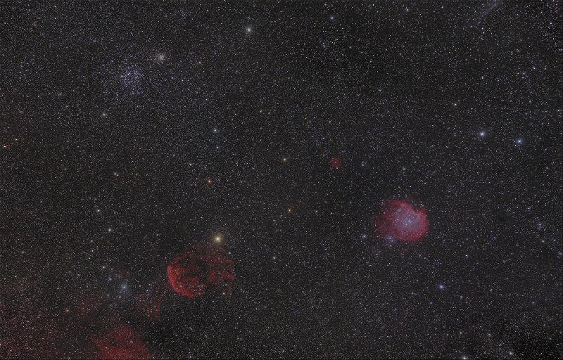V2 avec réduction d'étoile
