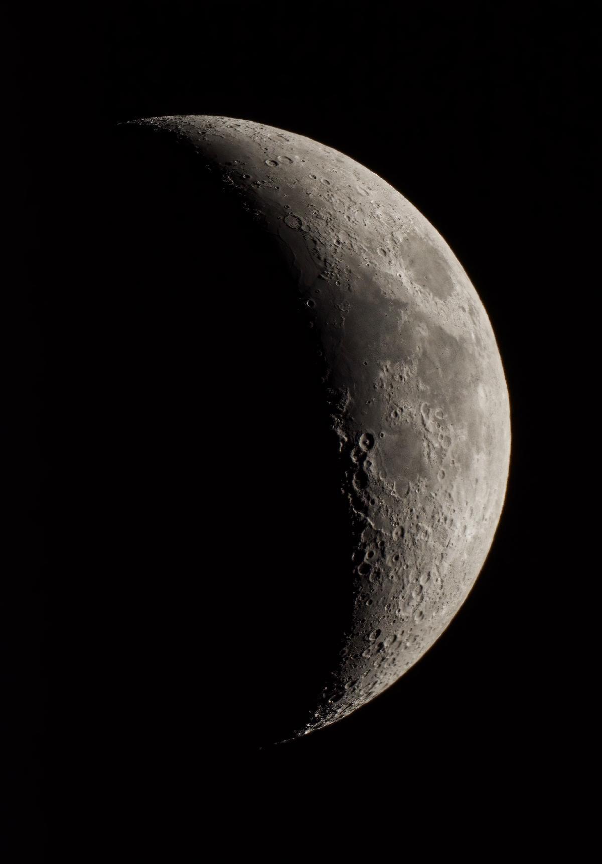 Lune en croissant
