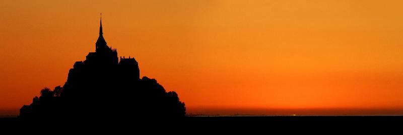 Eclpise au Mont Saint Michel - 21h10
