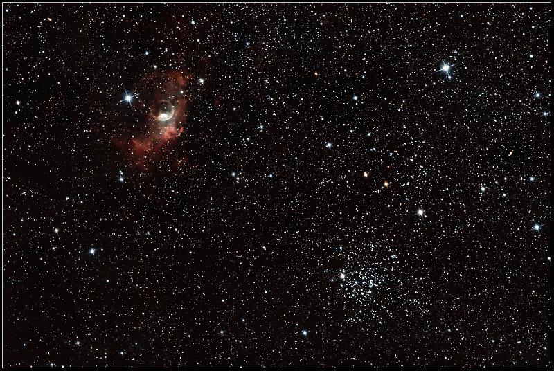 NGC7635, Nébuleuse de la Bulle