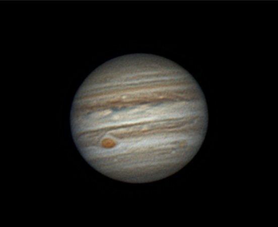 Chapelet Jupiter nuit 8/9 avril