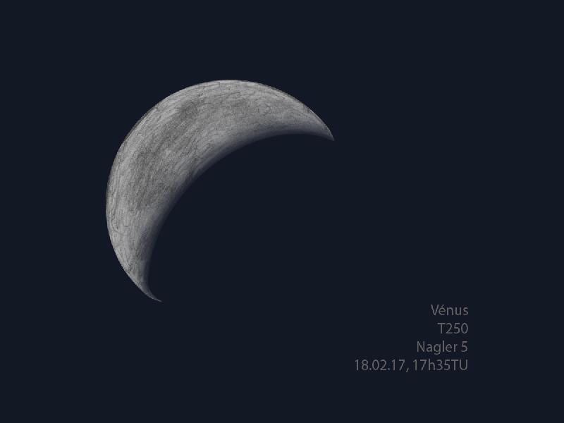 Vénus T250, 18.02.17